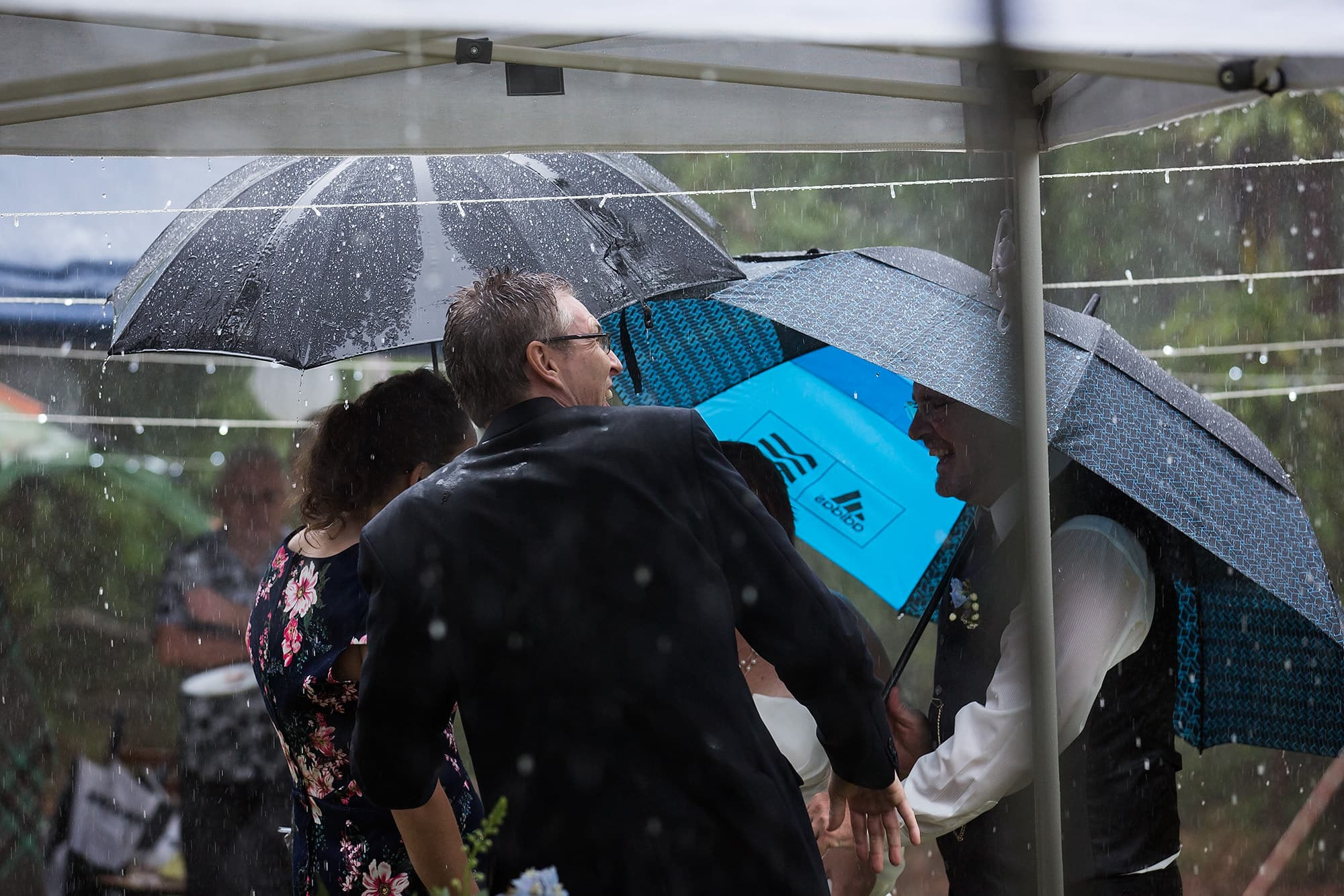 Wet Weather Weddings with Bec Pattinson Photography