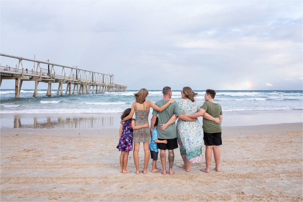 Family Shoot at The Spit Main Beach